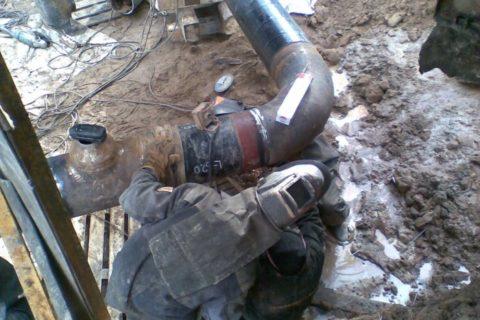 Монтаж трубопроводов любой сложности