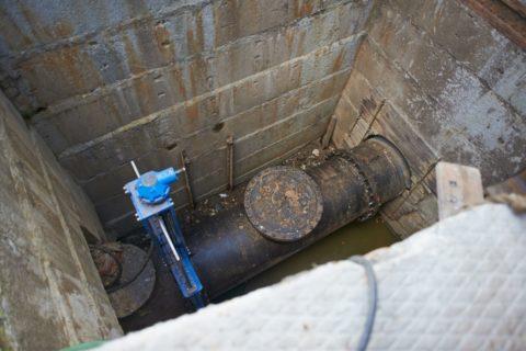 Устройство канализационных коллекторов