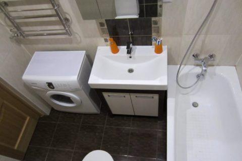 Ремонт ванной 4 кв. м