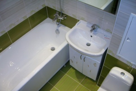 Ремонт ванной 5 кв. м